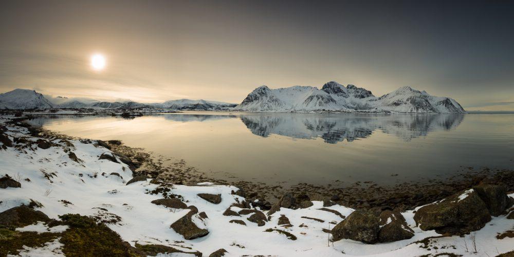 2017 Epson Pano Awards Bronze Award - Arctic Sunset