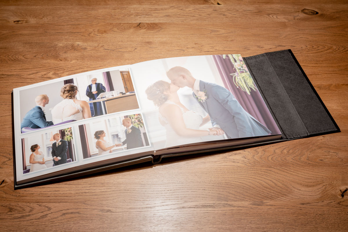 Premium Foto Album - Trouwfotografie - © Dion van den Boom - Fotografie
